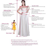 Scoop Neck High Low Prom Dress with Beading Girls Graduation Party Gown SP654