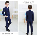 Boys suits for weddings costume Kids tuexdo Children Clothing Set Blazers