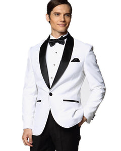 Mens Suits Jacket Pants  Black Shawl Lapel Men Suit Set Wedding Suits Groom Tuxedos  (Jacket+Pants)
