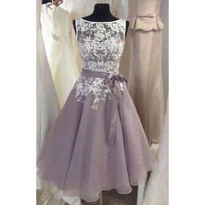 61989a08fd9 Lace Short Prom Dress Formal Evening Party Gowns Cocktail dresses ...