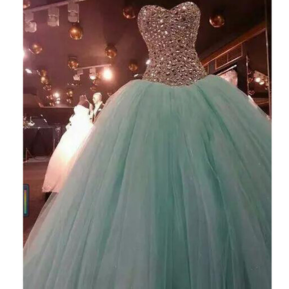 Siaoryne LP0926 Ball Gown Crystal Beading Quinceanera Dress Debutante Gown prom dresses