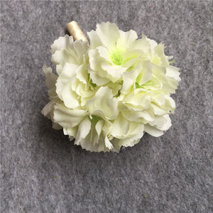 Buttonhole Boutonniere Groom Groomsman Best Man Artificial Flowers Wedding Bouquet Accessories Prom Party Decoration