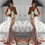 Dreamy Spaghetti Straps Fishtail Sexy Evening Prom Dresses Women New Formal Gown Vestido