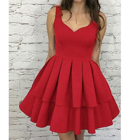 Siaoryne Red Short Prom Dress Junior 8th Grade Dance Dress ,Homecoming Dresses LP21458