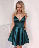 Wine Red /Teal/Navy Short Prom Dress Girls 8th Grade Junior Cocktail Homecoming Dresses Vestido SP254