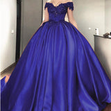 Luxury Ball Gown Wedding dress Burgundy Bridal Reception Dress Formal Prom Gown