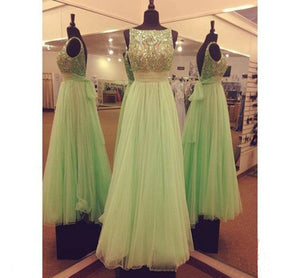 Siaoryne LP0903 Long Prom Dress with Beading Tulle formal Gowns for women Custom made