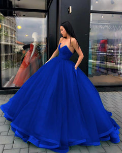 Sweet 16th Quinceanera Gown Royal Blue/Burgundy Sweetheart Corset Debutante Dresses for Girls PL8745