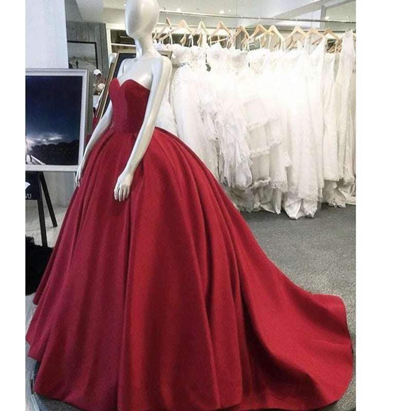 Red Wedding Gowns Fashion Dresses