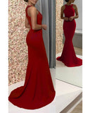 2020 Long prom Gown Women Party Dresses Long Fitted Outfit PL745