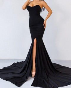 Backless Sexy Sweetheart Long Evening Formal Gown women Prom Dresses