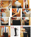 MD007 Siaoryne Multi Color Peak Lapel Grooms Wedding Tuxedos ,Prom Suits for Men 3 Pieces outfit(Jacket+pants+vest)
