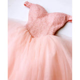 LP4569  Pink Off the Shoulder Full Beaded Poofy Short Prom Dress Homecoming Gown 2018 Graduation Dress