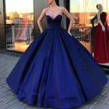 WD6874 Scoop Neck Ball Gown Wedding Dress Satin bridal Engagement Dress Reception Wedding party Gown 2018