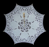 Lace Manual Opening Wedding Umbrella Bride Parasol Umbrella Accessories For Wedding Bridal Shower Umbrella