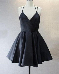 Sexy Girls Short Black Homecoming Cocktail Dress SP900