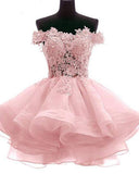 Siaoryne Lovley Poofy Ball Gown Junior Graduation girls Short Homecoming  Prom Dress vestido de festa curtoSP2017
