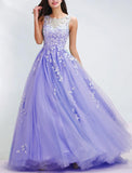 2020 elegant Long Prom Dress Aqua Senior Prom Gowns Graduation Long Dresses