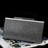 LP2369 Bling Bling Crystal Evening Bags Women Clutch Bag Diamond Party Purses Lady Wedding Clutches