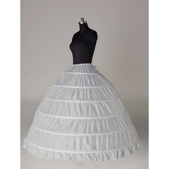 6 Circle Ball Gown Petticoat