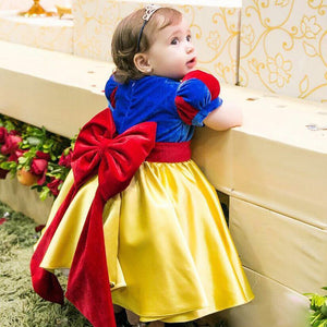 colorful Baby Girl Dress Little Child Flower Girl Dress Ball Gown