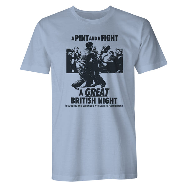 A Pint and a Fight Viz Unisex T-Shirt