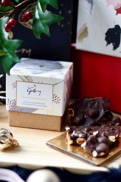 Single Origin Dark Chocolate Chunks (Grand Cru Collection Gift Cube)