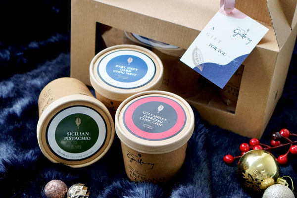 Holiday Edition Ice Cream Pint Trio Bundle