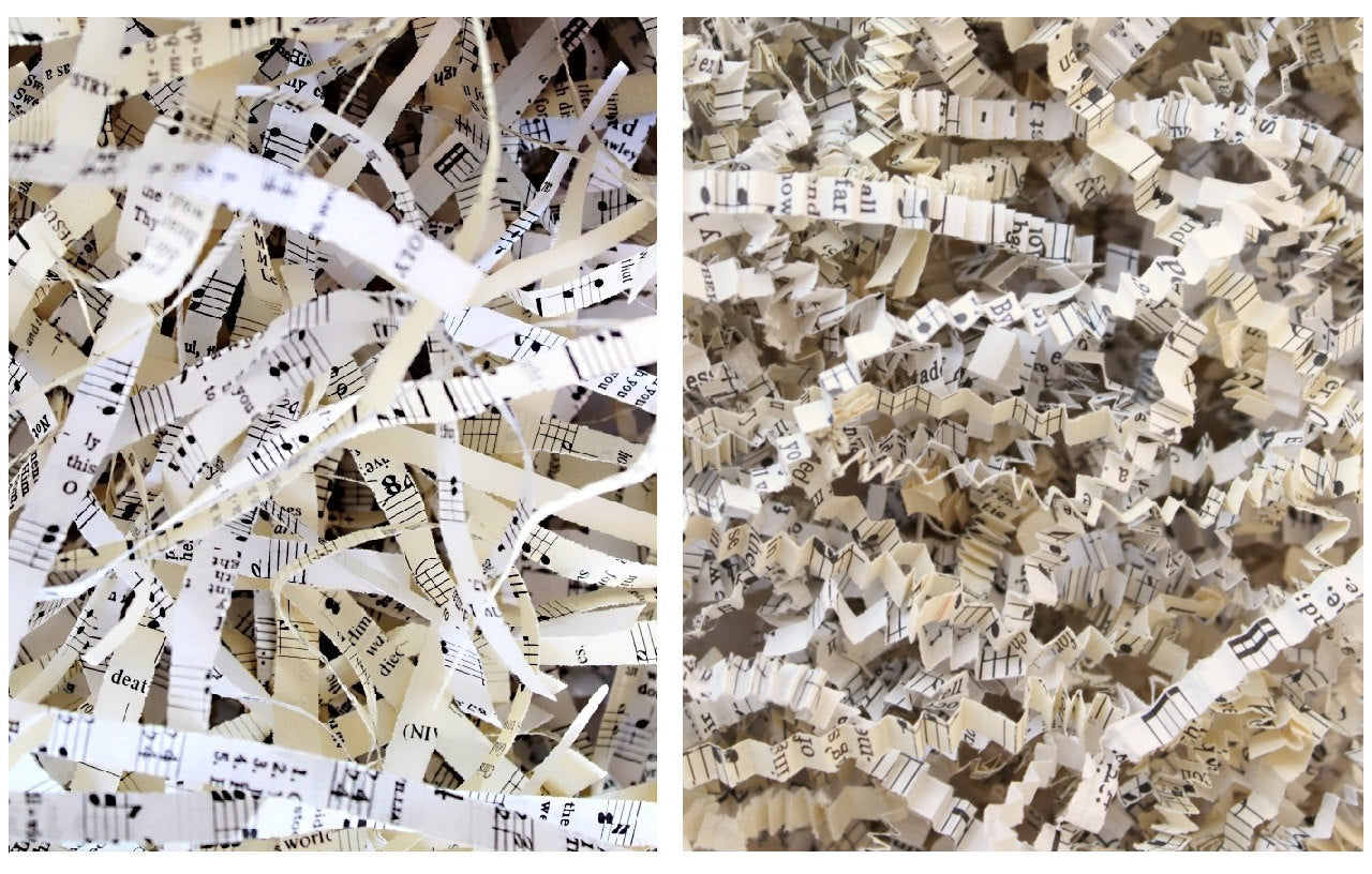 Sheet Music Shred Paper or Crinkle Paper Shred