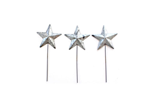 Metal Stars Picks Cupcake & Cake Toppers