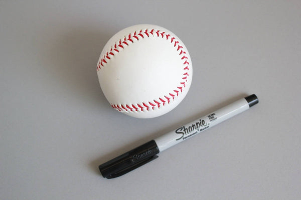 Blank Baseball / Unmarked Plain Baseball