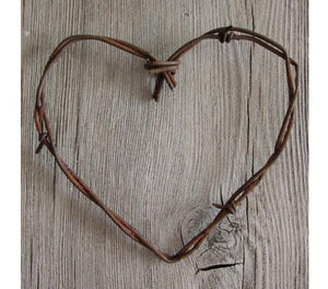 Simple Barbed Wire Heart