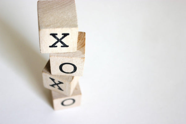 XOXO . wooden blocks/xo . hugs and kisses . wood blocks . xoxo sign . wood blocks baby