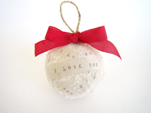 Personalized Christmas Ornaments Ragball