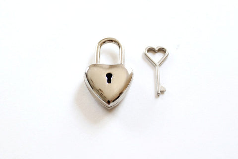 Heart Lock with Heart Key