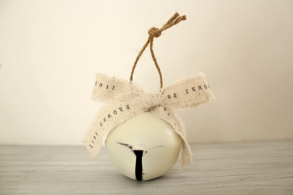 Personalized Jingle Bell Christmas Ornaments
