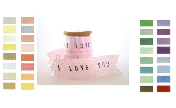 Personalized Seam Binding Ribbon