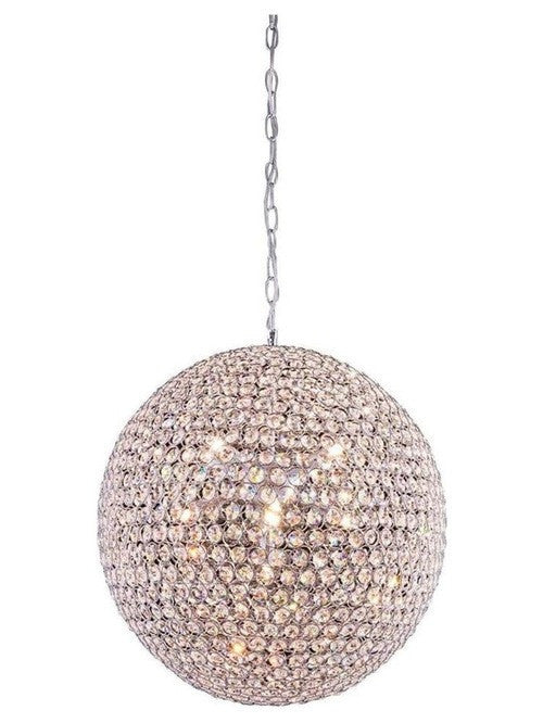 Crystal sphere ball pendant hs lighting furniture crystal sphere ball pendant aloadofball Image collections