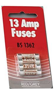 13 Amp fuse pack of 4