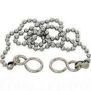 18 Inch Chrome Ball Chain