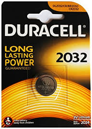 Duracell 2032 battery Pack of 1