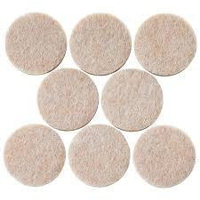 25mm Heavy Duty Felt Pads 1 Inch 8