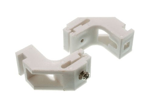 Curtain Rail Glide Track Bracket To Fit Drape Silver White 5