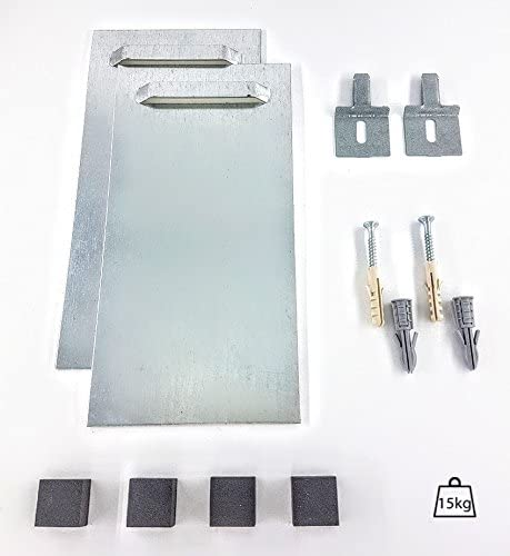 Panel/Mirror Hanging KIT, Acrylic, Forex, Aluminium Dibond. Self-Adhesive - Plaster & Solid Walls - UP to 15kg