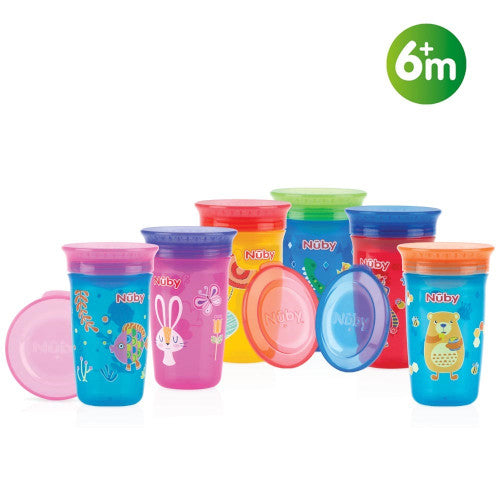 Nuby No Spill 360 Degree Printed Wonder Cup