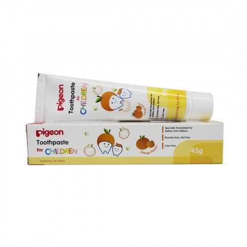Pigeon Children Orange Toothpaste
