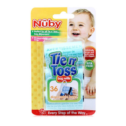 Nuby Tie N Toss Diaper Bag Dispenser Refills