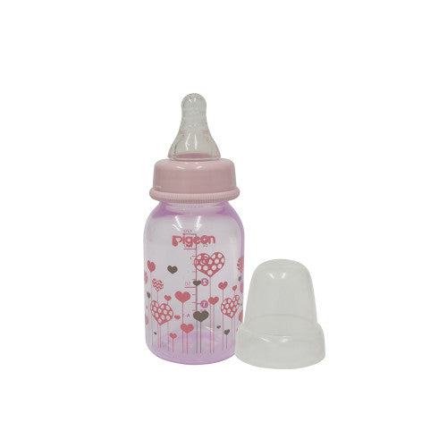 Pigeon Peristaltic Clear Nursing Bottle RPP 120ml