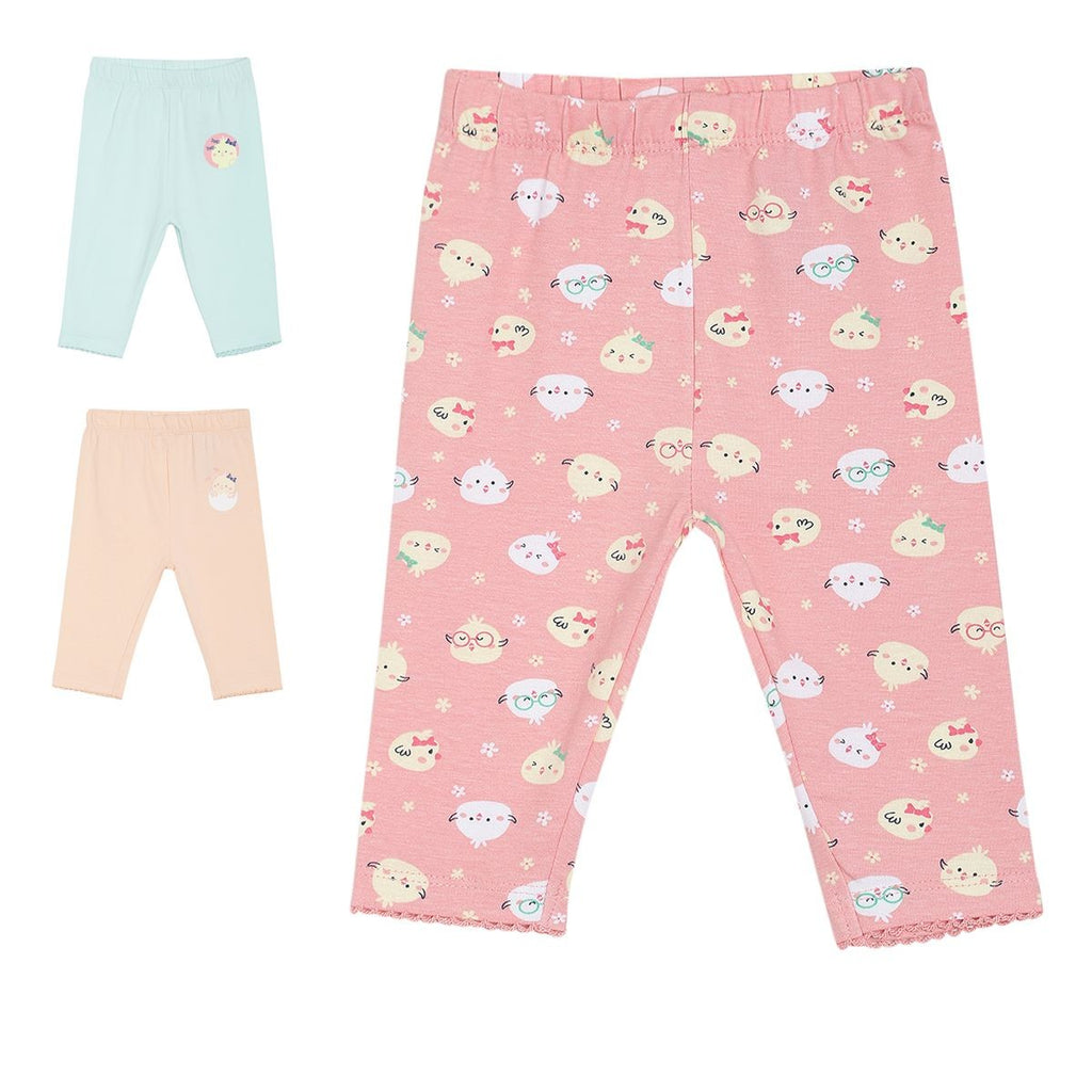 Girls Multi Capri