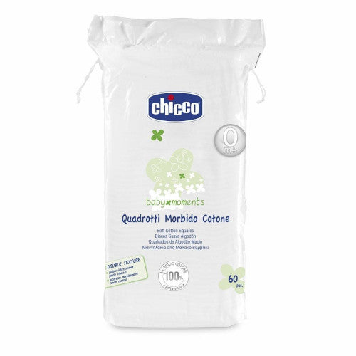 Chicco Baby Moments Soft Cotton Squares